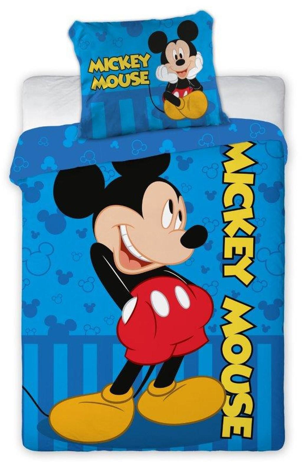 Babydekbedovertrek Mickey 100x135 cm