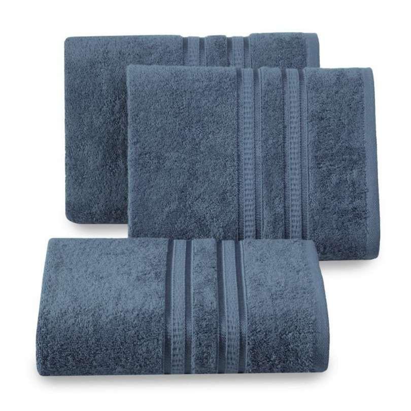 Handdoek luxe donkerblauw meerdere maten