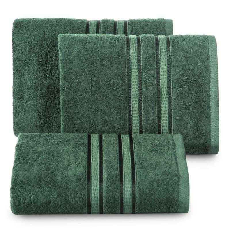 Handdoek luxe donkergroen meerdere maten