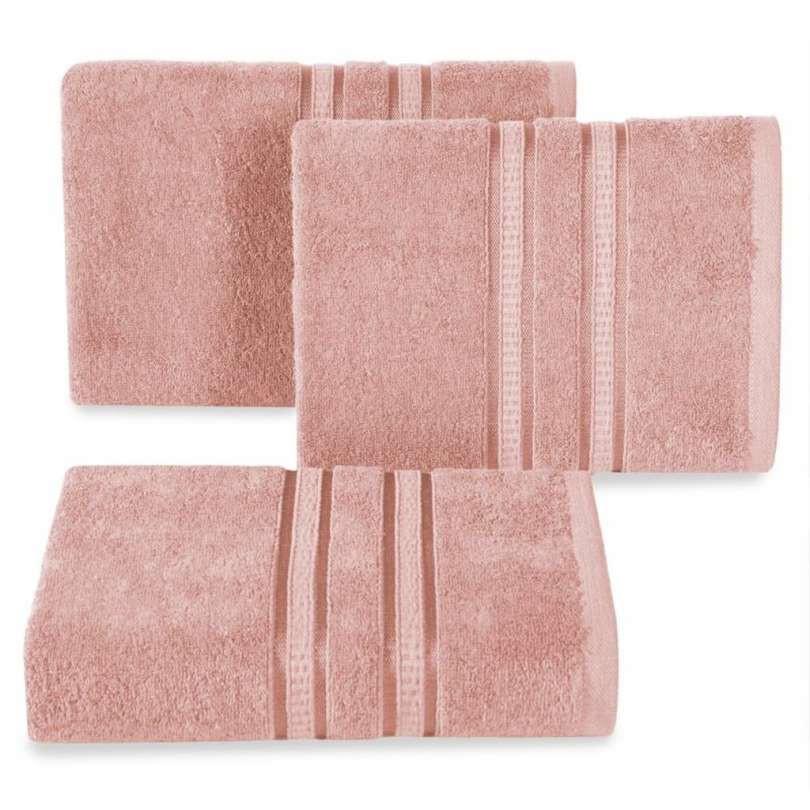 Handdoek luxe oude roze meerdere maten