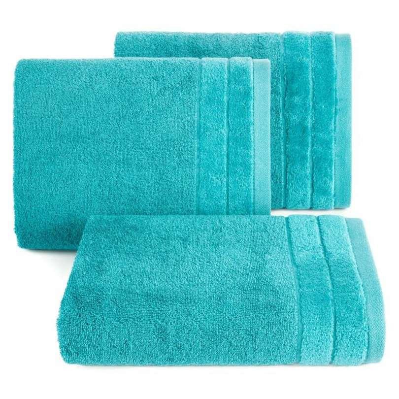 Handdoek luxe turquoise meerdere maten