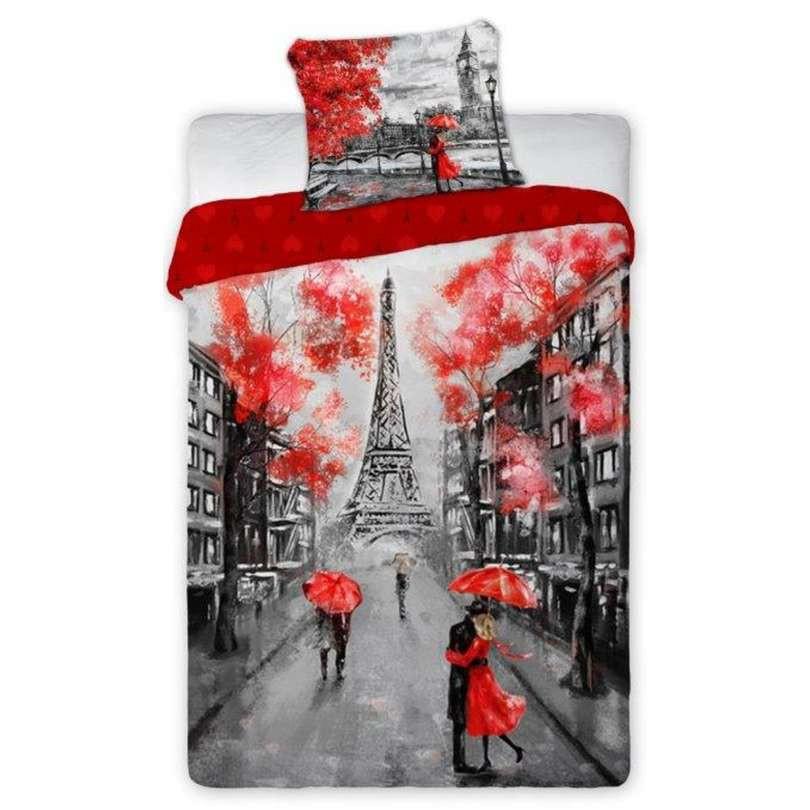 Tienerdekbedovertrek Paris 160x200 cm